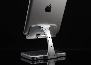 Docking Vertic Horizontal Desktop Charging Stand Holder Ipad 1 & 2