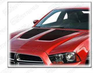 Dodge Charger 2011 Hood Blackout Stripe Decals Styles