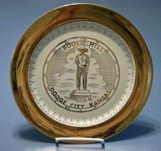Vintage Crest O Gold Sabin Dodge City Kansas Boot Hill Collectors