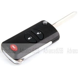 For Remote Chrysler Dodge Key Keyless Fob Replacement Case 2 BT Panic