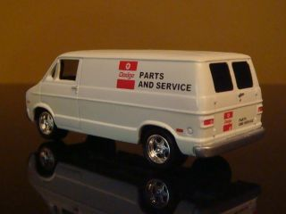 Dodge RAM Van Mopar Parts Service Van 1 64 Scale Edition 3 Detailed