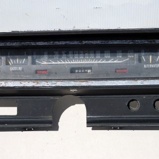 Dodge Charger Monaco Instrument Cluster 72 73 74 75 76