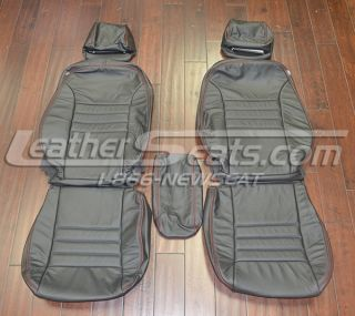 2011 2012 Dodge Charger Leather Seat Covers Custom Interior