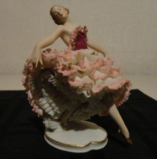 Alka Kunst Dresden Lace Figurine Melodie (Flawless condition)
