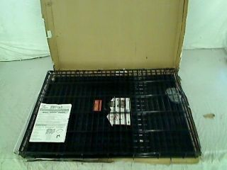 Stages Single Door Folding Metal Dog Crate 42 by 28 by 31