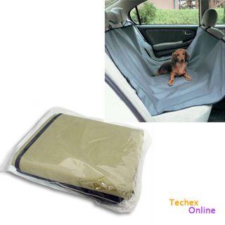 Dog Car Rear Back Seat Cover Pet Mat Blanket Hammock Protector Cradle