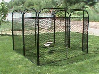 6X8X6H Two Dog Dog Run Kennel Cage Fencing