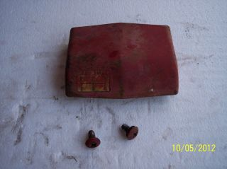 Farmall IH 450 400 300 350 dash cover used row crop gasoline tractor