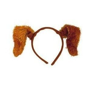 PUPPY PARTY DOG EARS HEADBAND Birthday Supplies Costume FAVORS