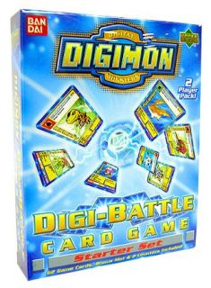 Digimon Digital Monsters Digi Battle Card Game Starter Set 1st Edition