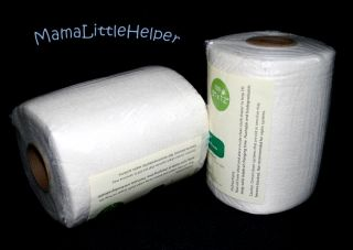 Bamboo Flushable Biodegradable Cloth Diaper Liners 100