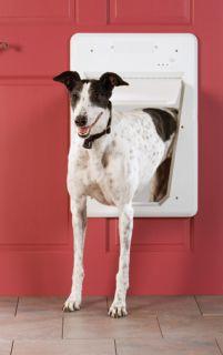 NEW & IMPROVED PetSafe ELECTRONIC SMART DOG DOOR LARGE