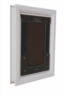 Large Pet Door 11in. x 17in. Energy Efficient & Secure