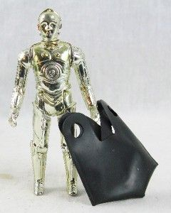 Vintage Star Wars C 3PO Action Figure Droid Complete with Removable