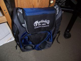 Martin Guitar Cooler Bag Lunchbag w iPod  Player