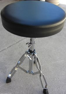 Drum Throne Padded Drummer Stool Chair Piano Seat New