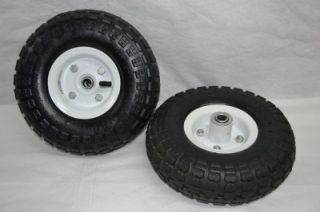 Hand Truck Dolly Cart Wagon Go Kart 10 Tires Wheels New