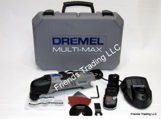 Dremel 12V Max Cordless Multi Max Oscillating Tool 8300 01 For Sawing