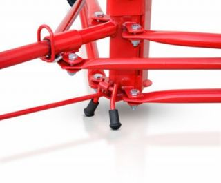 DPH11 Professional 11 Drywall Panel Hoist Jack Lift Lifter Tool   Red