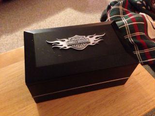 Harley Davidson Dresser Valet Jewelry Box