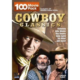 Cowboy Classics 100 Movie Pack DVD 24 Disc Digital1stop