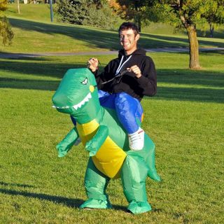 Dinosaur Costume Fan Operated Adult or Child Size Halloween Costume