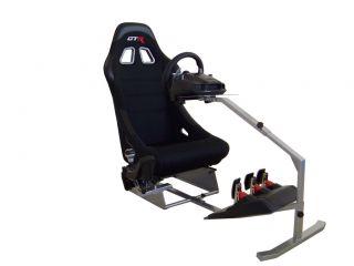 GTR Racing Driving Simulator Touring Cockpit Racing Rig Game Chair