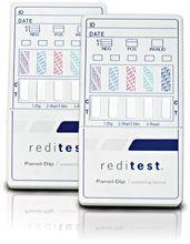 Six Panel Drug Test Kit Reditest Panel DIP 3 Pack
