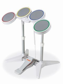 Rock Band Wii Drum Set Only Complete Drumset Wired Rockband