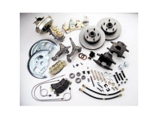 Stainless Steel Brakes A123 1 Front Drum to Disc Brake Conversion Kit