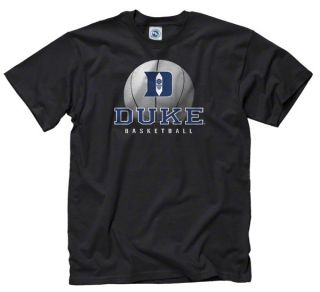 Duke Blue Devils Black Spirit Basketball T Shirt