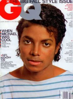 GQ Magazine Michael Jackson Tribute Issue Sept 09 New