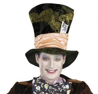 Disney Alice in Wonderland Mad Hatter Hat Licensed Movie Halloween