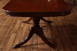 Duncan Phyfe Antique Style Dining Table 11 1 2 Table