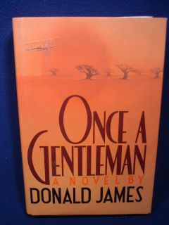 once a gentleman donald james new york crown publishers 1987 hardcover