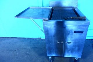 Stainless Steel Commercial  Anets  Natural Gas Donut Fryer