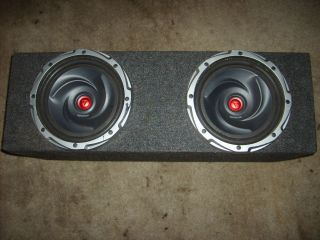 Dual 10 Subwoofer Speaker Enclosure Box