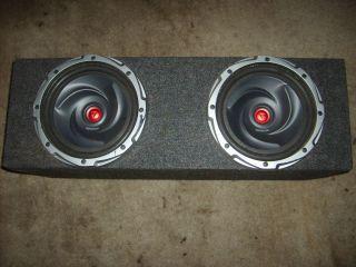 Dual 10 Subwoofer Speaker Enclosure Box