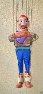 Howdy Doody Marionette Puppet in TV, Movie & Character Toys