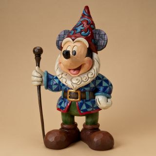 Jim Shore Disney Traditions Mickey Mouse Huge Big Garden Statue Gnome