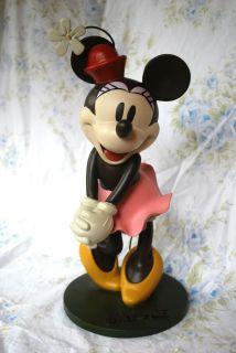 BOX Disney Minnie Mouse Medium Big Figure Epcot Garden Statue 2 of 5