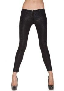 Brand Duarte Black Raygun Low Rise Skinny Stretch Jeans $238 29