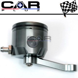 CNC Clutch Brake Oil Fluid Reservoir Ducat Honda Gray