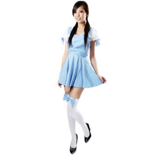 Halloween Wizard of oz Dorothy Costume Stocking s Size