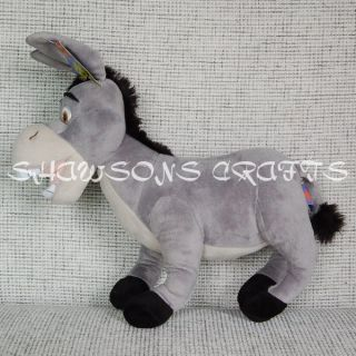 Dreamworks Shrek Toy Donkey 17 Plush Stuffed Doll