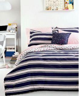 Tommy Hilfiger Dorset Blue Pink Full Queen Comforter Set