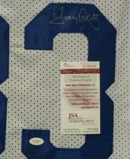 Tony Dorsett Autographed Signed Dallas Cowboys Size XL Jersey w JSA