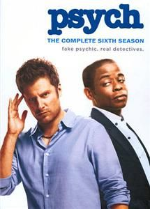 Psych The Complete Sixth Season DVD 2012 4 Disc Set