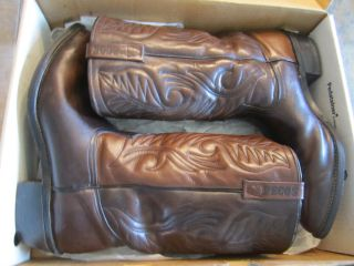 VINTAGE RED WINGS 13 TALL PECOS COWBOY MOTORCYCLE BOOTS 13 WESTERN