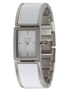 DKNY Stainless Steel Ceramic Bracelet Casual Womens NY8239 Watch New
